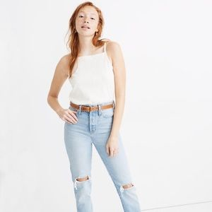 Madewell Classic Straight Hartsville Wash Jeans 31
